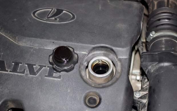 Небольшое наличие картерных газов - это нормально. | Фото: mylada.net
