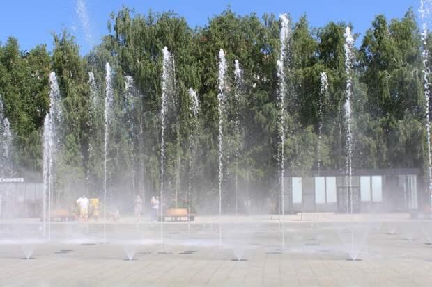 Жители Ижевска смогут заглянуть в «сердце» светомузыкального фонтана на Центральной площади