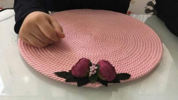 Сервировка с цветами (Diy)