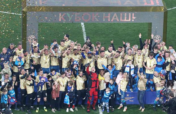 «Зенит» — обладатель золота, «Спартак» — в Лиге чемпионов. ЦСКА ничего не выиграл впервые за 20 лет