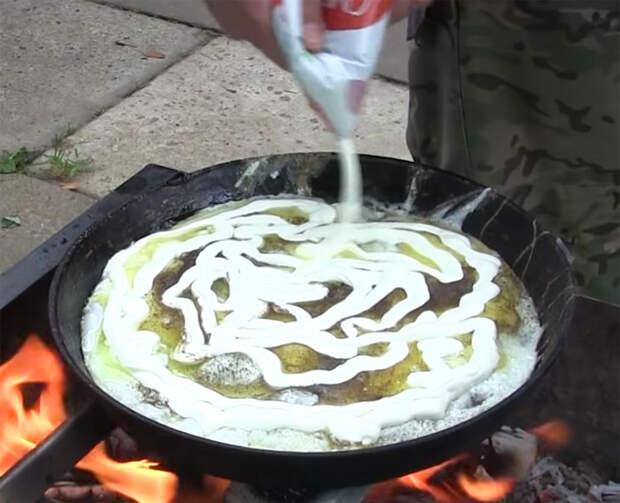 Яичница по-монгольски: самое сытное блюдо из яиц
