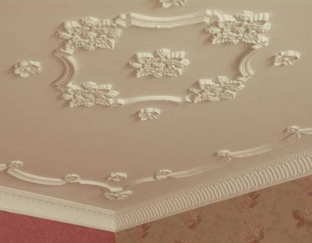 Красивый декор – лепнина из пенопласта (60 фото)