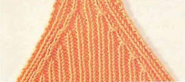 Вязание спицами для начинающих. Убавление петель.