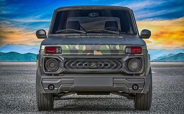 Обновление для Lada 4х4 Bronto: выглядит брутально