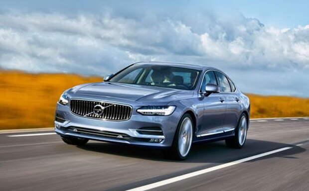 Тест Volvo S90: «девяностые» наступают