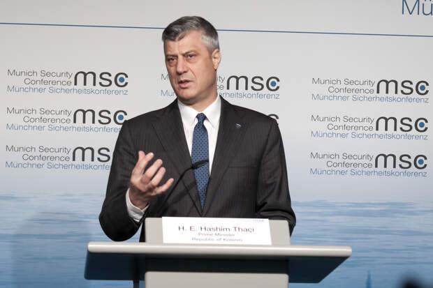 В Гааге будут судить сложившего полномочия президента Косово