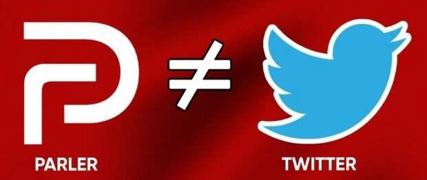 Американская цензура уничтожила соцсеть Parler