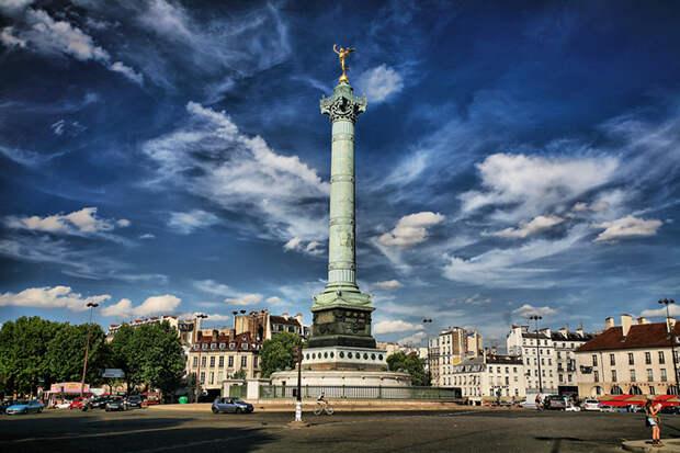 Так выглядит площадь Бастилии сегодня.
