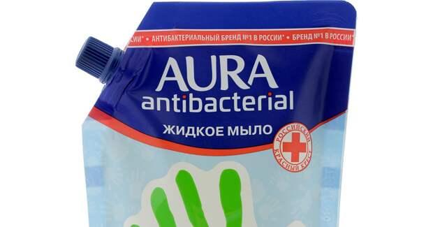 ФАС оштрафовала производителя мыла Aura за нарушение закона о защите конкуренции