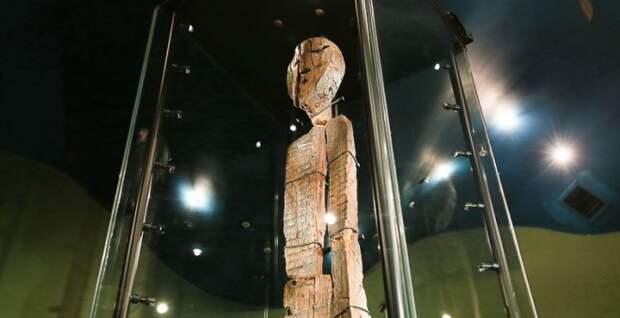 На Урале нашли древнюю статую дьявола