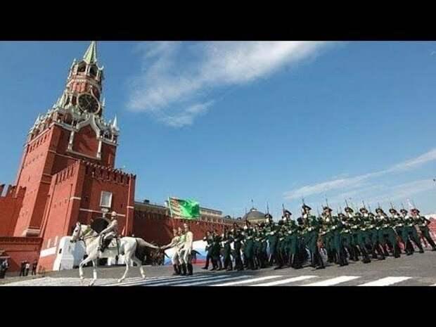 Парад Победы проходит на Красной площади (прямая трансляция)