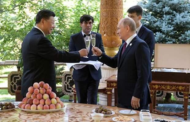 Как Путин мороженому дорогу в Китай открыл