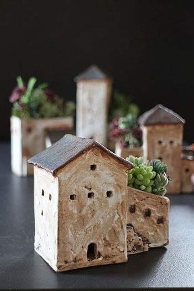 Цветочные домики (подборка)