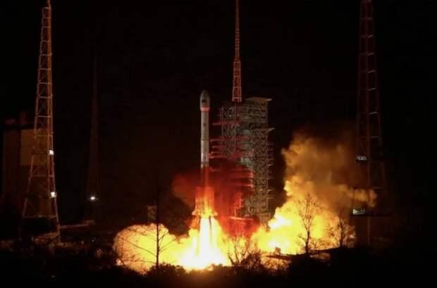 Китайская ракета-носитель Чанчжэн-3B не смогла вывести спутник на орбиту
