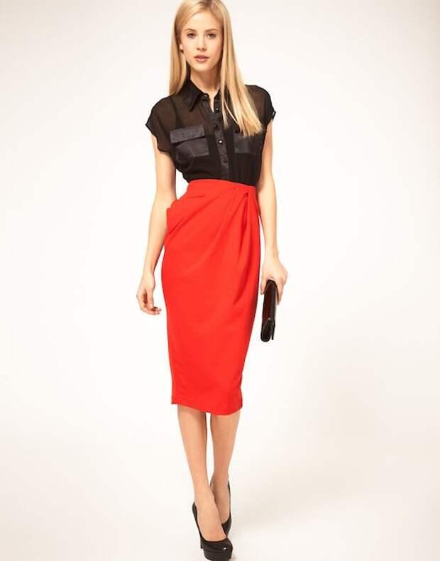Узкая юбка — как выбрать и носить?