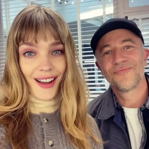 Наталья Водянова и Лоран Филиппон