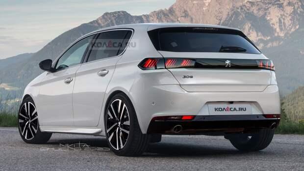 Новый Peugeot 308: первые изображения