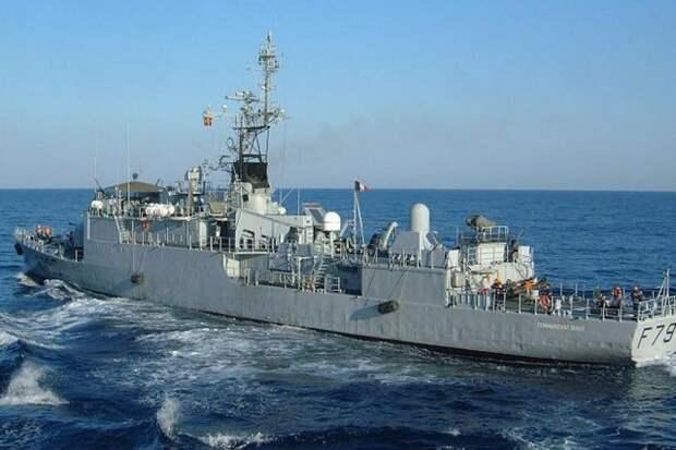 Черноморский флот следит за действиями французского судна Commandant Birot