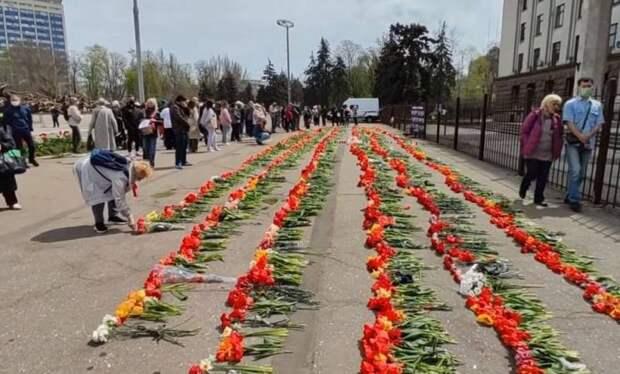 Сводка о событиях в Одессе в 7-ю годовщину массового убийства в Доме профсоюзов
