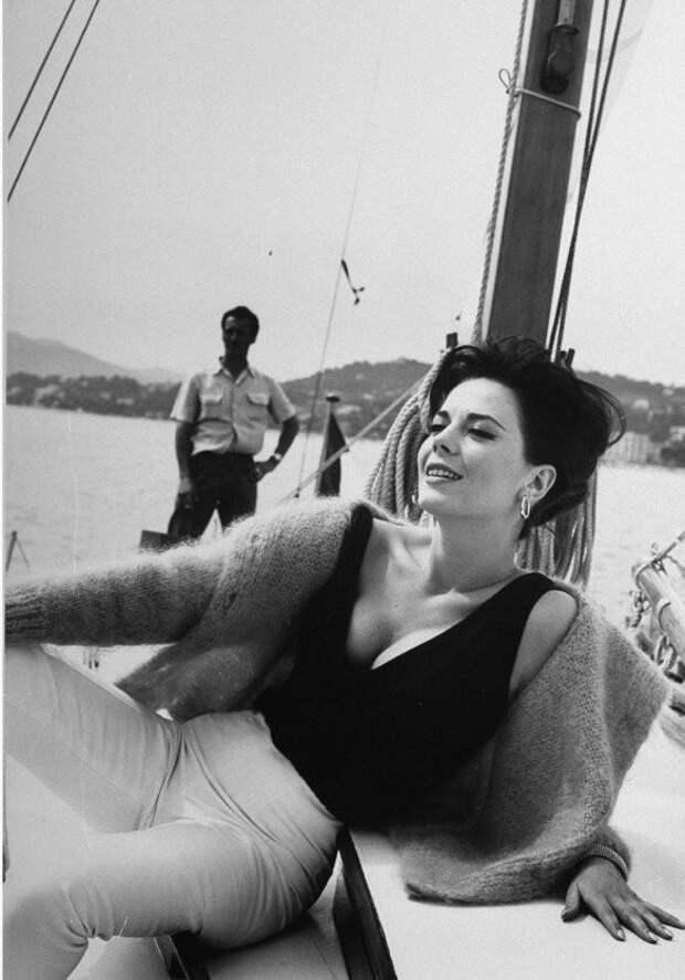 Натали Вуд на Каннском кинофестивале,1962 год.