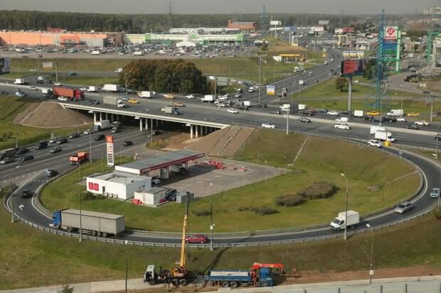 Реконструкцию развязки МКАД с Осташковским шоссе завершат в 2022 году