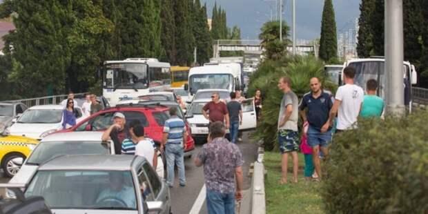 В Сочи с 1 июня вводят запрет на въезд иногородних автомобилей