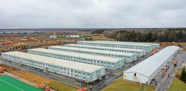 Пять конференций по борьбе с COVID-19 прошли в инфекционном центре «Вороновское»