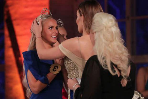 Русская красотка с пышными бедрами стала Мисс Финляндия
