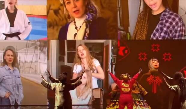 Видео изОренбурга показали насцене «Евровидения» вРоттердаме