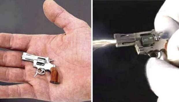 Да, он стреляет! В Швейцарии изготовили самый миниатюрный боевой револьвер