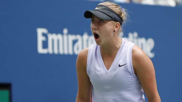 Потапова уступила Гауфф в первом круге US Open