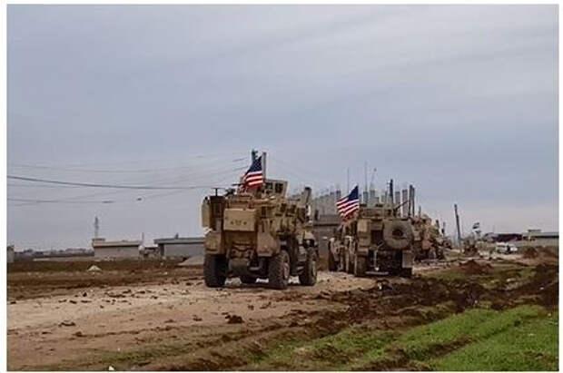 Пентагон отреагировал на инцидент с остановкой военной колонны в Сирии