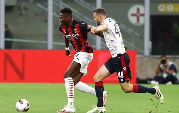 «Милан» и «Кальяри» ушли с поля без забитых мячей