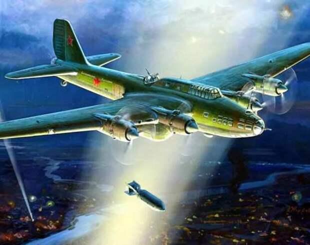Советский тяжелый бомбардировщик ТБ-7. Почему сделали 97 штук и отказались производить дальше? (2021)