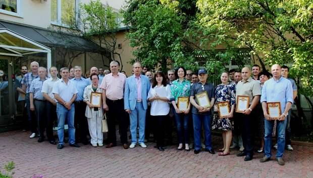 В ГУП СППМ наградили лучших работников