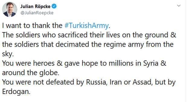 """""""Вы были побеждены не Россией"""": В Сети появилось глумливое обращение к турецкой армии"""