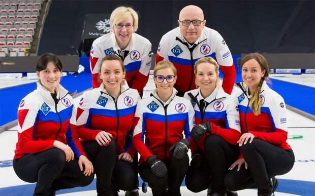 Женская сборная России проиграла 1-й матч на ЧМ по керлингу, но вышла в плей-офф и квалифицировалась на Олимпиаду
