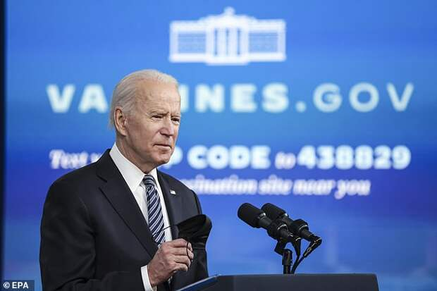 A group of more than 120 retired military officers have written President Joe Biden (pictured Wednesday) to tell him his election was less than legitimate