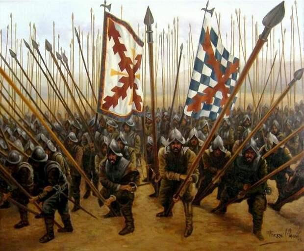 Но вернуть славное прошлое Испании было уже не суждено.