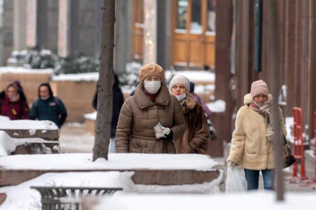 Аномальные морозы увеличат число заражённых COVID-19 в Москве