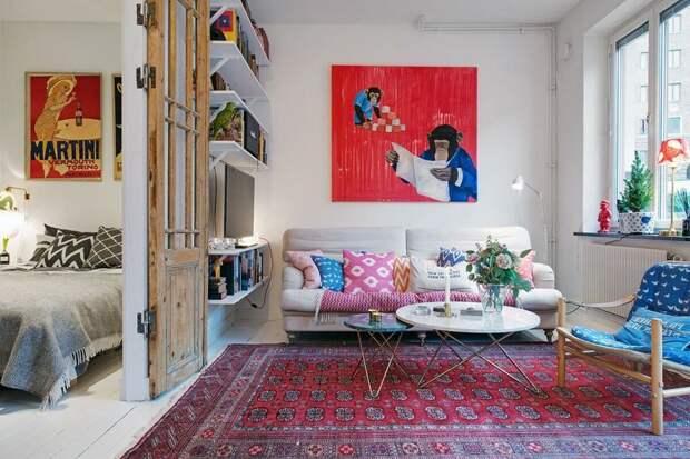 Делаем интерьер квартиры уютным: всего 6 простых шагов