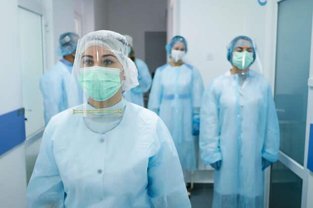 В России за сутки выявили 8489 заражённых COVID-19