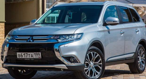Mitsubishi отзовет в России 3,2 тыс. Outlander из-за проблем с тормозами