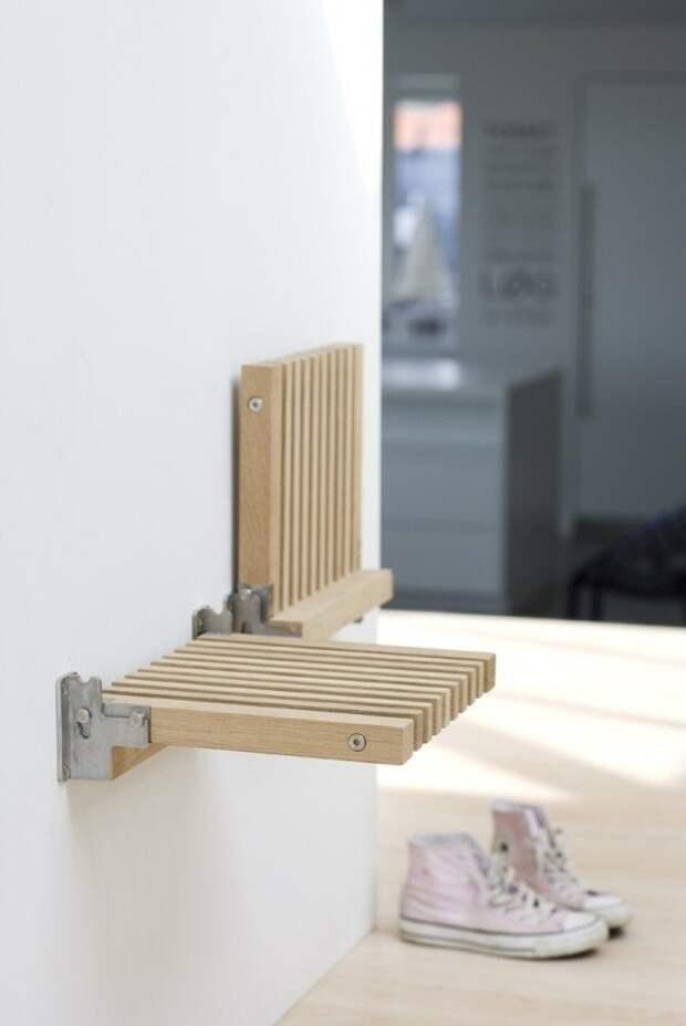 Разного рода откидные столики и стульчики - просто и со вкусом Фабрика идей, интересное, мебель, полезное, трансформеры, эргономичность
