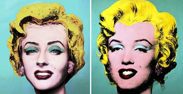 Холст, масло: одна модель, невероятный макияж и никакого фотошопа