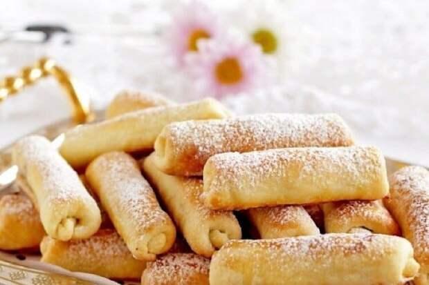 Печенье Сигареты с орехами. Тающее во рту лакомство с незабываемым вкусом 4