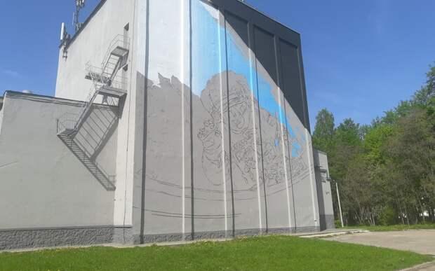 На стене рязанского ДК появится граффити с портретом космонавта