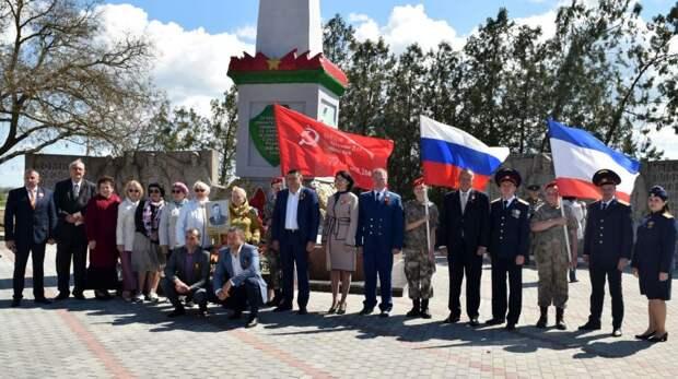 В Раздольненском районе состоялись мероприятия, посвященные 76-й годовщине Победы в Великой Отечественной войне