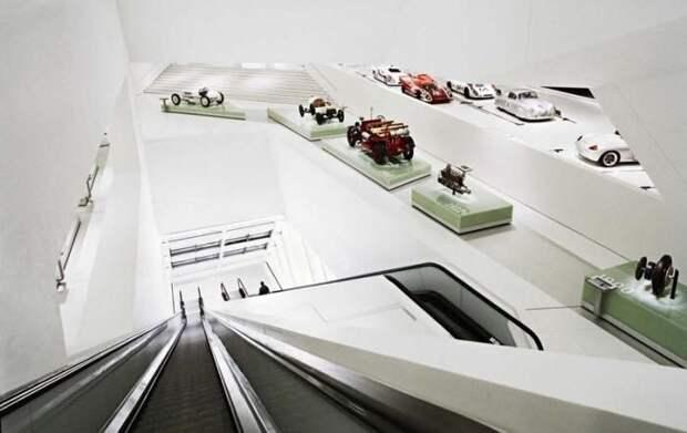 Музей автомобилей Porsche, Штутгарт