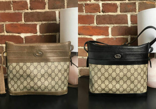 Реставрация брендовой сумочки. | Фото: Pholder.